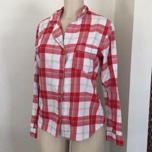 Ugg plaid sleep shirt